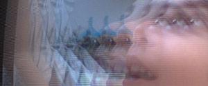 Efeito de tela de TV retrô/vintage