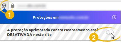 Firefox : proteção aprimorada contra rastreamento